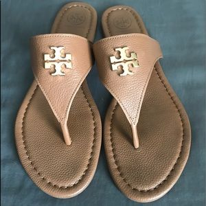 b0f70b8a9d7 Tory Burch Shoes - Tory Burch Laura Flat Sandals 9.5M